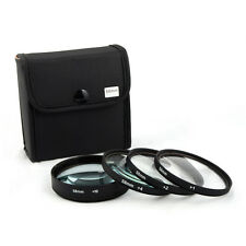 Jackar 58mm Close-Up Filter Set (+1,2,4,10) For Canon Nikon Sony Olympus Pentax