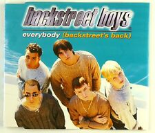 Maxi CD - Backstreet Boys - Everybody (Backstreet's Back) - A4110
