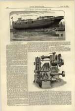 1884 Launching Ships Sideways Best Practice Norman Wheeler