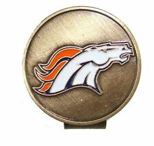 Denver Broncos Hat Clip with Golf Ball Marker