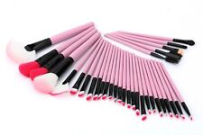 32pcs Pink Professional Makeup Brush Set Kit Superior Soft Cosmetic + Case USA