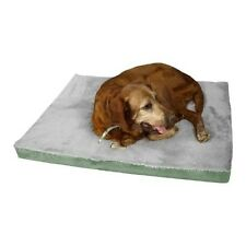 Aeromark Medium Memory Foam Dog Mat in Sage Green and Gray M06HHL/HS-M New