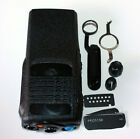 Black Replacement Front Outer Case Housing Cover For Motorola Radio PRO5150