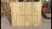 Brand New 6ft x5ft Strong Fully Framed Feather Edge Fence Panel Garden  RRP £35