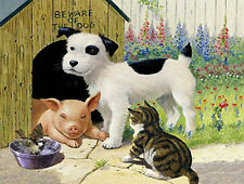 Beware of the Dog 500 Piece Jigsaw Puzzle by SunsOut