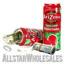 Watermelon Soft Drink Diversion Security Safe Can Hide Protect Valuables