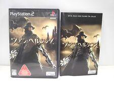 PlayStation2 -- VAN HELSING -- PS2. Sony. JAPAN GAME. Work fully!