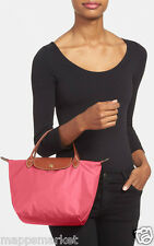 NEW Authentic LONGCHAMP Le Pliage Mini Handbag Tote in Malabar Pink