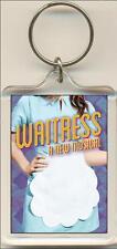 Waitress. The Musical. Keyring / Bag Tag.