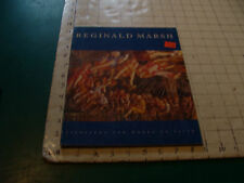 Vintage book: rREGINALD MARSH painting and works on paper, 1985 Hirschl 31pgs