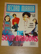 RECORD MIRROR 1990 JULY 21 SOUP DRAGONS CANDY FLIP