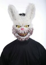 Snowball Scary Evil Bunny Mask Halloween Fancy Dress Accessory P9335