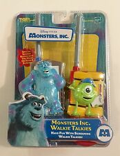 New Disney Pixar Monsters Inc. Walkie Talkies Toy/Sulley & Mike Wazowski (2001)