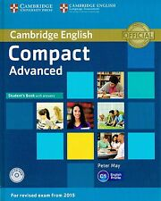 Cambridge COMPACT ADVANCED CAE Student's Book with CD-ROM for Exam from 2015 NEW
