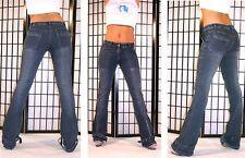 """BNWT 28"""" waist x 33.5"""" Inside leg FADED WORN LOOK JEANS LOVER LABEL BELT/ZIP LEG"""
