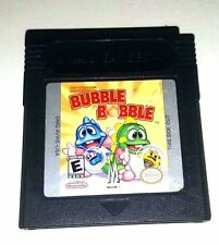 Gameboy Color Game Plays GBC GBA SP CLASSIC BUBBLE BOBBLE 60 Awesome Levels Fun
