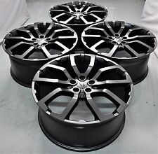 """20"""" NEW EVOQUE STYLE WHEELS RIMS FITS DISCOVERY SPORT EVOQUE XC60 XC70 5381 MB"""