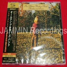 THE ALLMAN BROTHERS BAND - BROTHERS AND SISTERS  - JAPAN DELUXE 2 CD SHM Jewel
