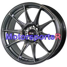 XXR 527 18 Chromium Black Concave Rims Staggered Wheels 5x114.3 Fit Nissan 370z