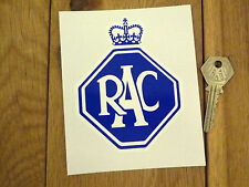 "RAC Old Style Car STICKER 4.5"" Classic Morris Oxford Austin Mini Rover Bike BMC"