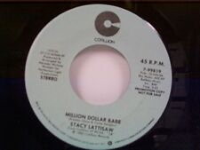 "STACY LATTISAW ""MILLION DOLLAR BABE / SAME"" 45 MINT PROMO"