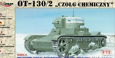 OT 130/2 FLAMETHROWER TANK (CHEMICAL T 26, SOVIET & FINNISH MKGS) 1/72 MIRAGE