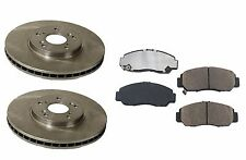 BREMBO Front Brake Rotors + Genuine Honda Pads Acura CL TL TSX Honda Accord NEW