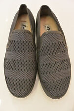 NEW UGG Men's Cavette Weave Leather/Suede Casual Shoes in Charcoal Size 9