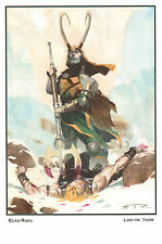 Thor Defeated by Loki Print - 2013 Signed by Esad Ribic