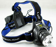 Rechargeable 2000 lumens CREE XM-L XML T6 LED 18650 Zoomable Headlamp Headlight