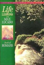 LIFE LESSONS WITH MAX LUCADO, BOOK OF ROMANS, BIBLE STUDY. Very Good, CLEAN