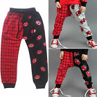 Kid Boys Girl Trousers Spiderman Print Baggy Sportswear Loose Jogger Runing Pant