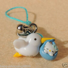 Unbranded Universal Hello Kitty Phone Charm with Strap & Bell  HK043-1 -1.5CM