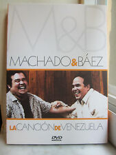 La Canción De Venezuela Báez & Machado (DVD, 2005) Great Condition w/ slipcover
