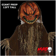 GIANT 12ft Hanging Evil Pumpkin - Large Halloween Prop/Decoration Creepy SCARY!