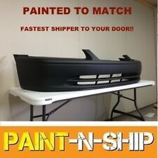 Fits; 2000 2001 Toyota Camry Front Bumper Painted to Match (TO1000206)