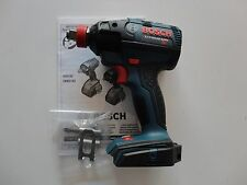 "BOSCH IDH182 18V 18 Volt Brushless 1/2"" Socket ready Impact Driver w/ Belt Hook"