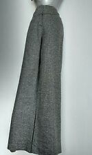 PHASE EIGHT high waist wide leg pants size 10 ---BRAND NEW-- wool & silk blend