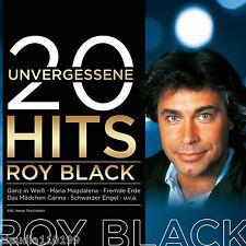 CD / ROY BLACK - 20 UNVERGESSENE HITS - NEU & OVP  (CP)