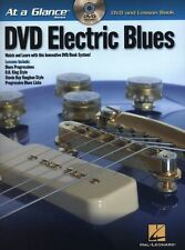 At A Glance Guitar Electric Blues Learn to Play Instructional Music Book & DVD