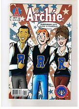 ARCHIE #617 BARACK OBAMA and SARAH PALIN Cover First Print UNREAD MINT