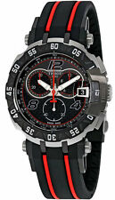 Tissot T-Race MotoGP LTD ED 2016 BLK Dial Black Red Rubber Watch T0924172720700