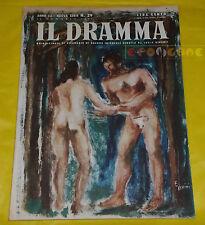 IL DRAMMA 1947 n. 29 - Copertina Ercole Brini - Opere: vedi inserzione