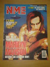 NME 1998 SEP 12 MARILYN MANSON BEASTIES MANICS