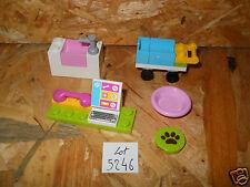 #5246# LEGO FRIENDS LOT ACCESSOIRES CHARIOT ORDI set 3188 CLINIQUE VETERINAIRE