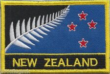 New Zealand Flag Proposal 2016 Embroidered Rectangular Patch Badge