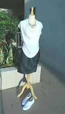 ADOLFO DOMINGUEZ SKIRT DENIM WRAPPED SKIRT LIMITED EDITION COLLECTION Sz- 40(8)