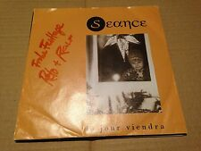 """SEANCE - LE JOUR VIENDRA 7"""" SINGLE SWISS SYNTH POP - SIGNED COPY"""