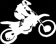 """Freestyle Jump"" MX Dirt Bike Motocross, Decal sticker,decal sticker,funny"