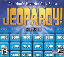 JEOPARDY DELUXE Quiz TV Show Trivia Puzzle PC Game Win XP/Vista NEW Sealed